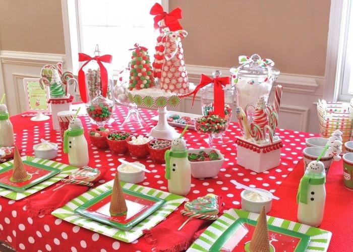 Оформление детского праздничного стола своими руками фото